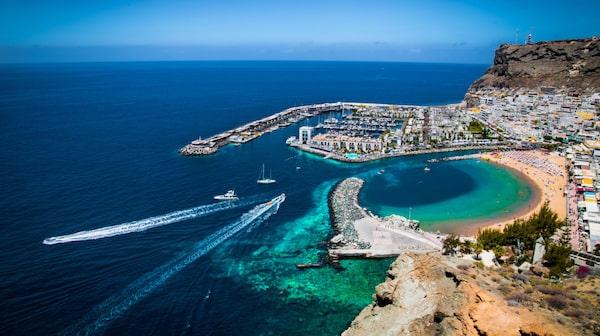 Gran Canaria erbjuder både stads- och strandsemester.