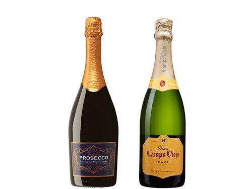 Prosecco och cava toppar listan över mest sålda bubblet.