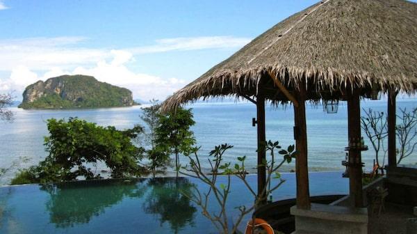 Koh Yao Yai i Phang Nga-bukten öster om Phuket