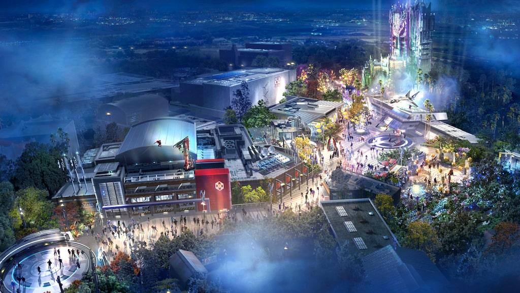 Avengers Campus är en av många spännande nyheter på Disneys parker.