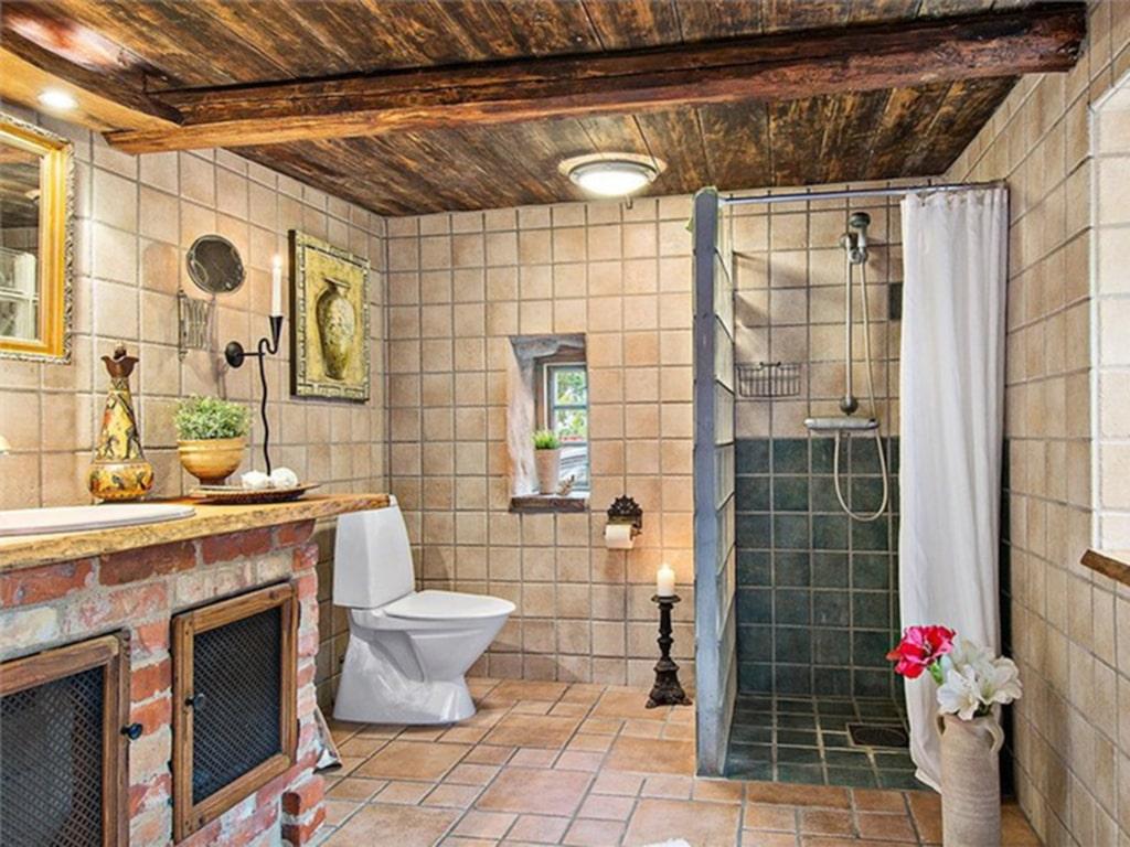 Badrummet är unikt i sitt slag.