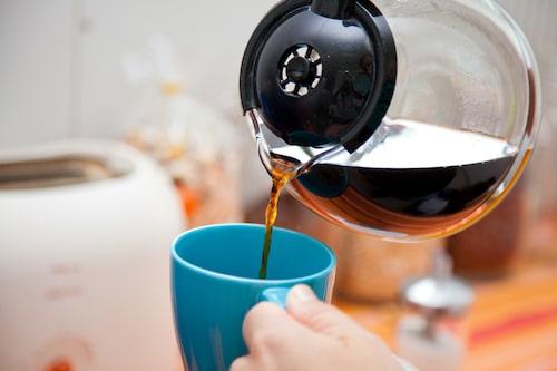 En kopp kaffe full av bakterier.