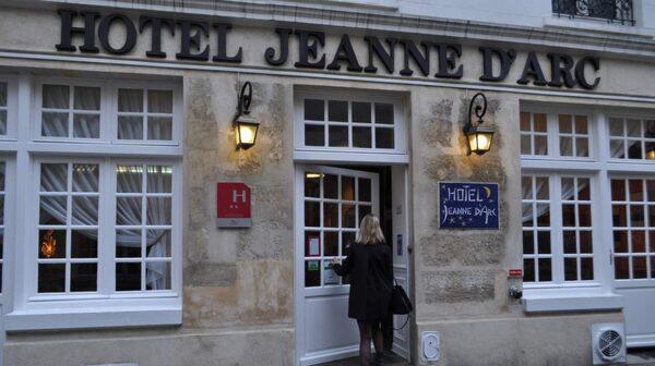Hotel Jeanne d'Arc är prisvärt