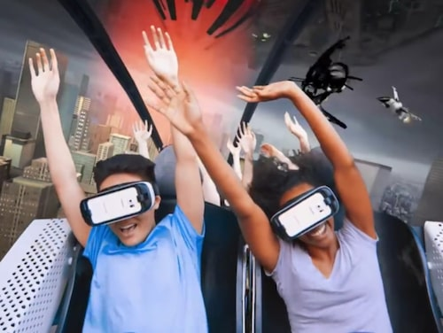 Steamin' Demon's New Revolution Virtual Reality Coaster.