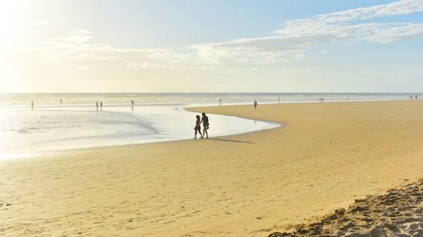 Conil har en suverän badstrand i södra Spanien.