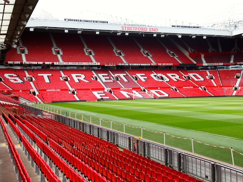 Uniteds hemmaarena Old Trafford.