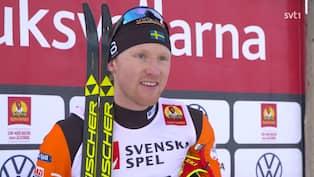 Oskar Svensson Vann Efter Loftet Kande Press