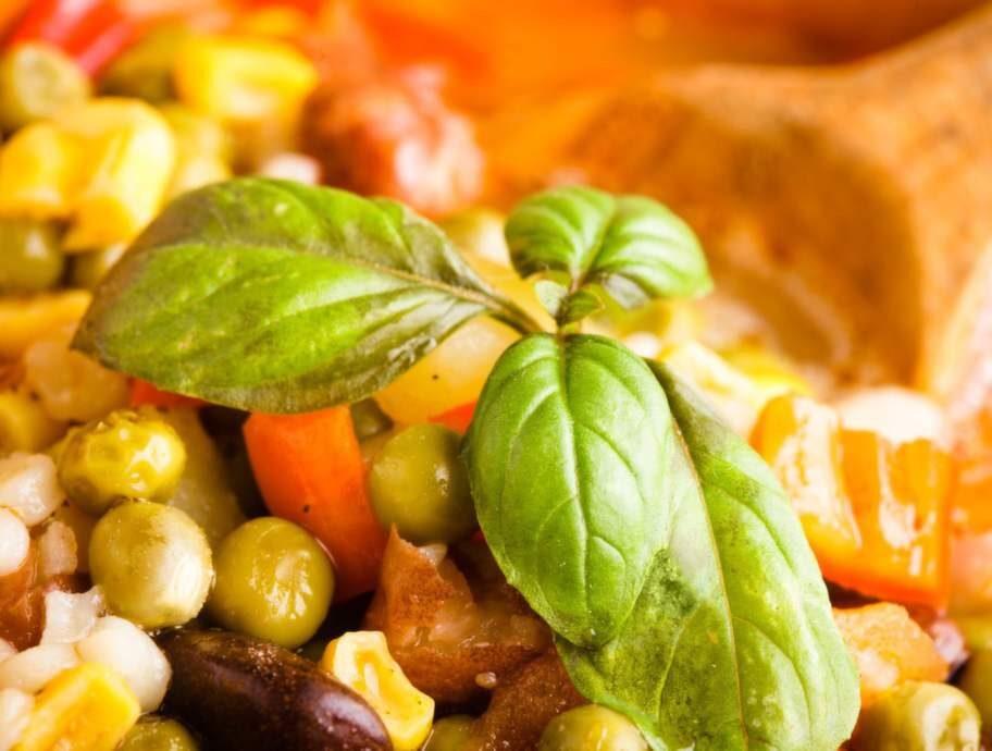 Baljväxter, som linser och bönor
