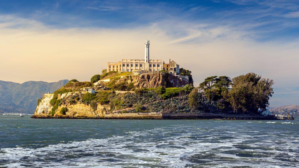 Ön Alcatraz tjänade som fängelse mellan 1934 och 1963.
