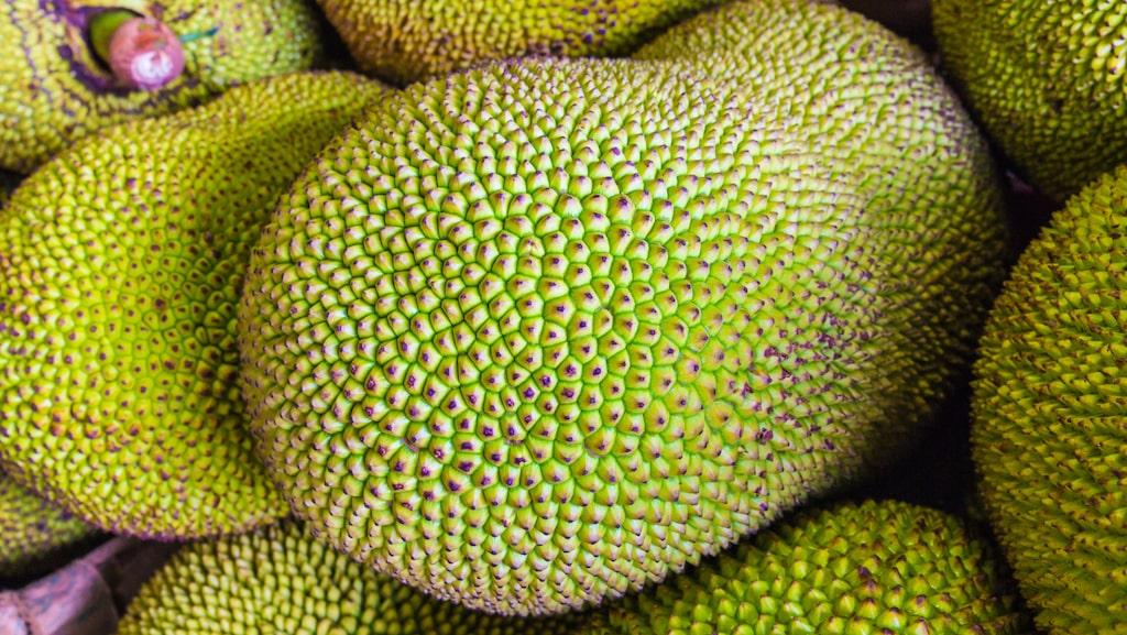 Jackfruit är särskilt rik på C-vitamin.