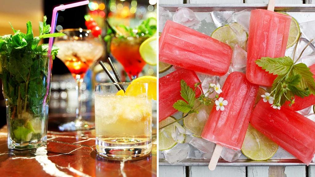 Servera dina cocktailfavoriter som isglass i sommar - en succé på festen.