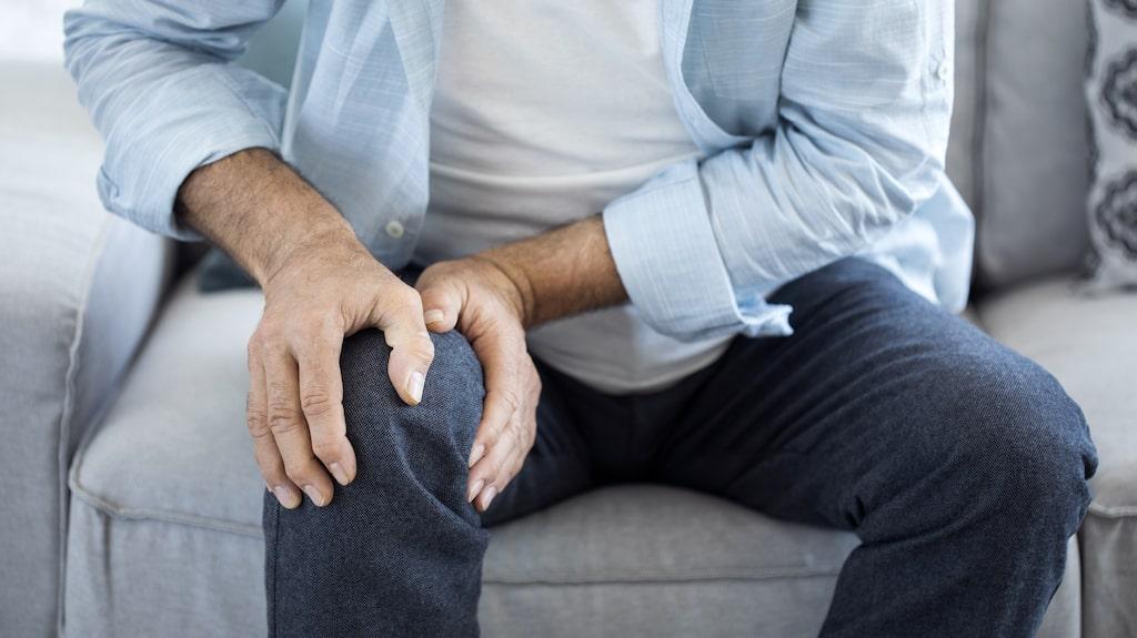 Hur ska man göra när ett skadat knä gör att man rör sig mindre och således får lättare att lägga på sig?