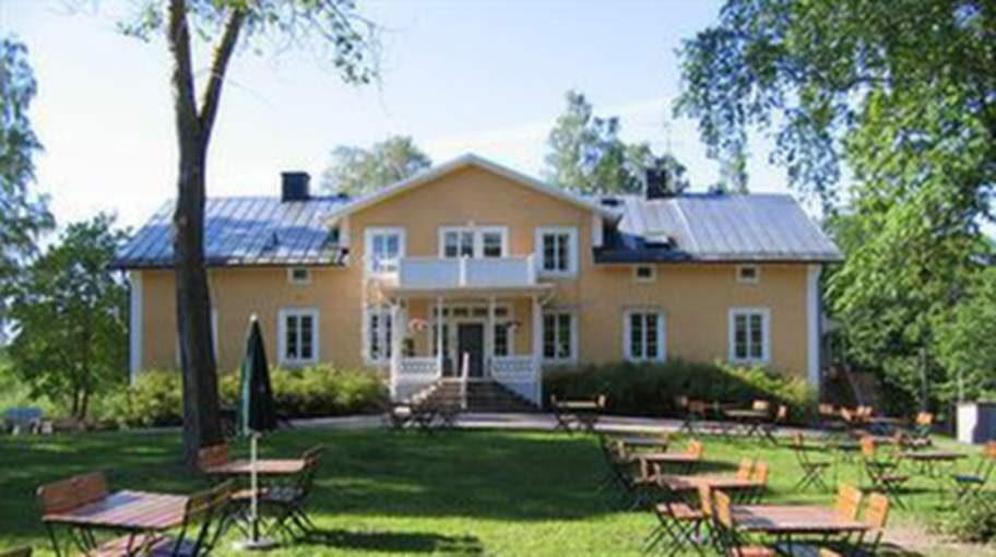 Långshyttans Brukshotell i Dalarna.