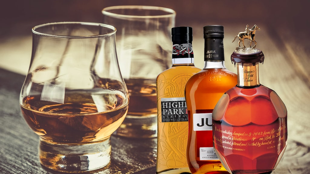 Om du vill ge bort något lite extra till en whisky-älskare. Här är 9 prisvärda fynd, enligt Andreas Grube.