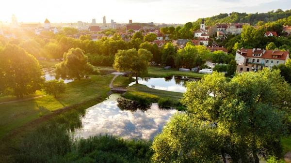 Vilnius är en pittoresk och promenadvänlig weekendstad.