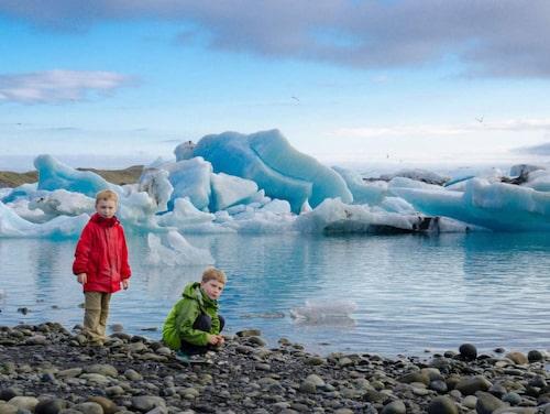 """Jökulsárlón betyder bokstavligen """"glaciärflodslagunen"""" ."""