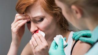 näsblod högt blodtryck