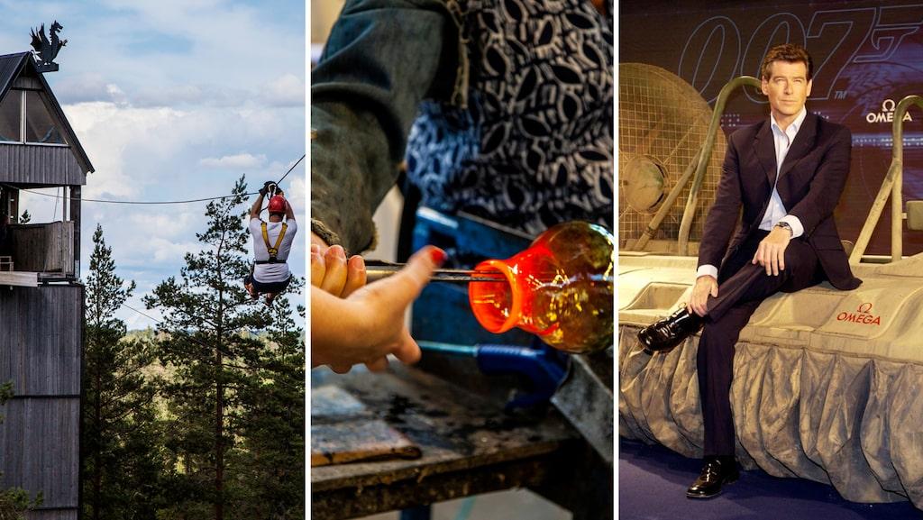 Vem kunde tro att världens enda permanenta Bond-museum skulle finnas i Småland?