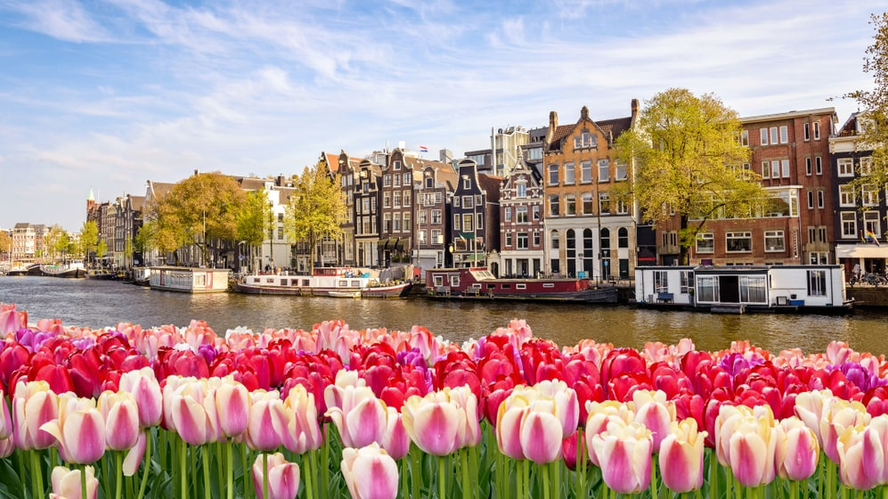 Amsterdam är svenskarnas nya resfavorit i höst.