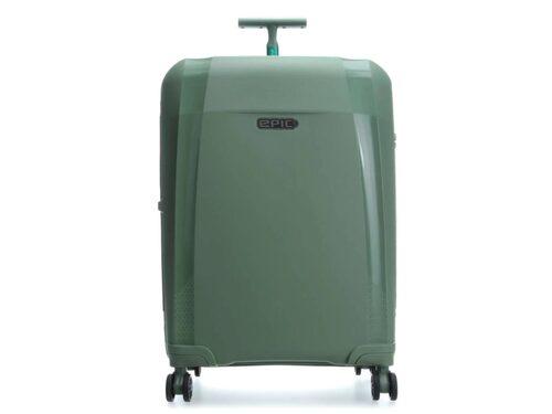 Episk resväska i form av Epic Phantom BIO.