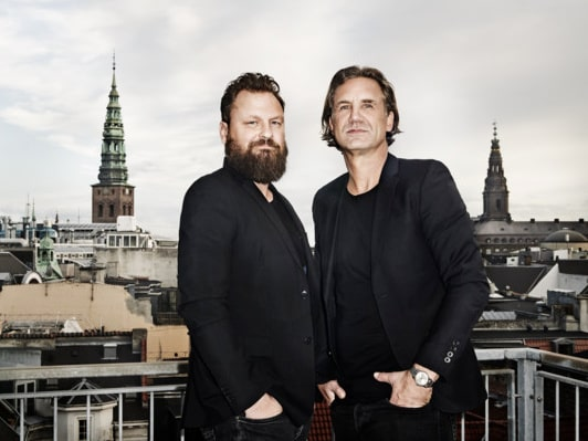 Jakob Thau och Sami Kallio bildar designduon Thau & Kallio.