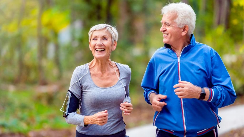 Fysisk aktivitet ökar vår livslängd.