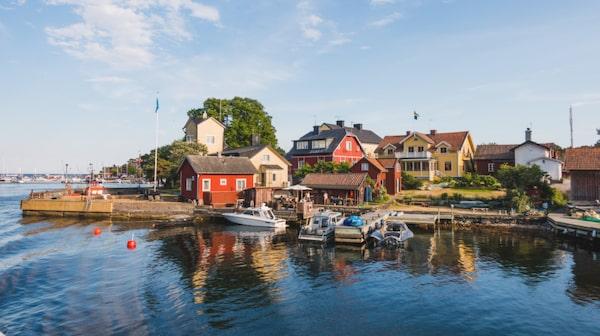 I Sandhamn finns något för alla.