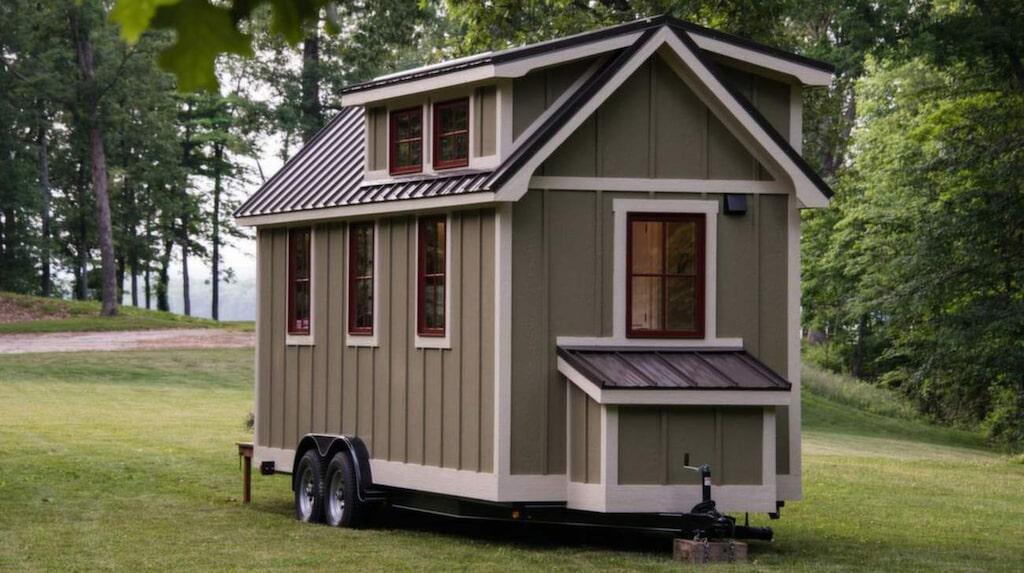 Det här lilla huset på hjul är bara 14 kvadratmeter. Men det är svårt att tro när man tittar in.
