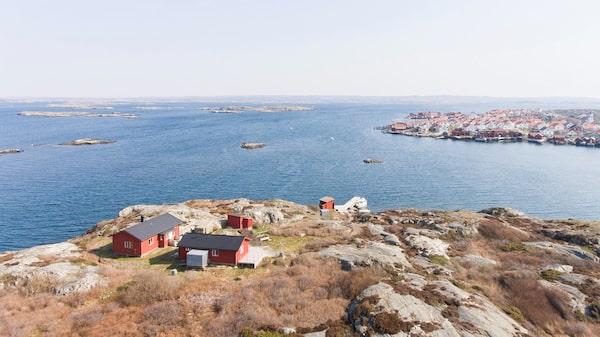 Vedholmen – egen ö på 2,9 hektar utanför Orust.