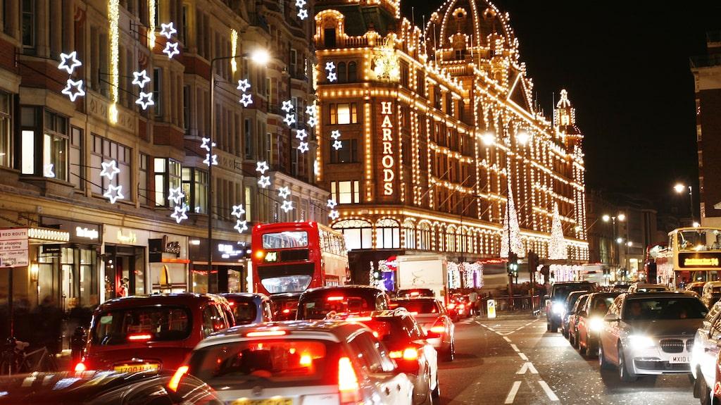 London i vinterskrud. Frågan är om det finns en mysigare plats att strosa runt på när julen nalkas?