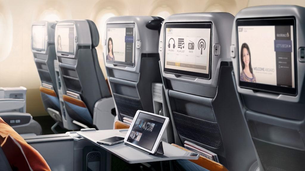 Flygplanet kommer inte ha någon ekonomiklass.