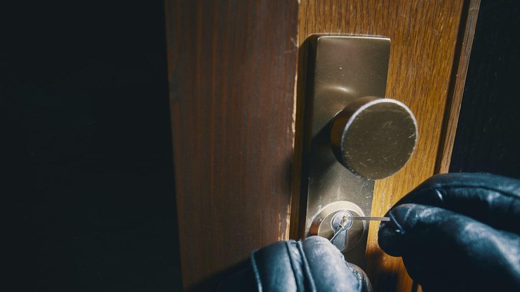 Under 2015 ökande antalet anmälda lägenhetsinbrott med fyra procent jämfört med 2014.