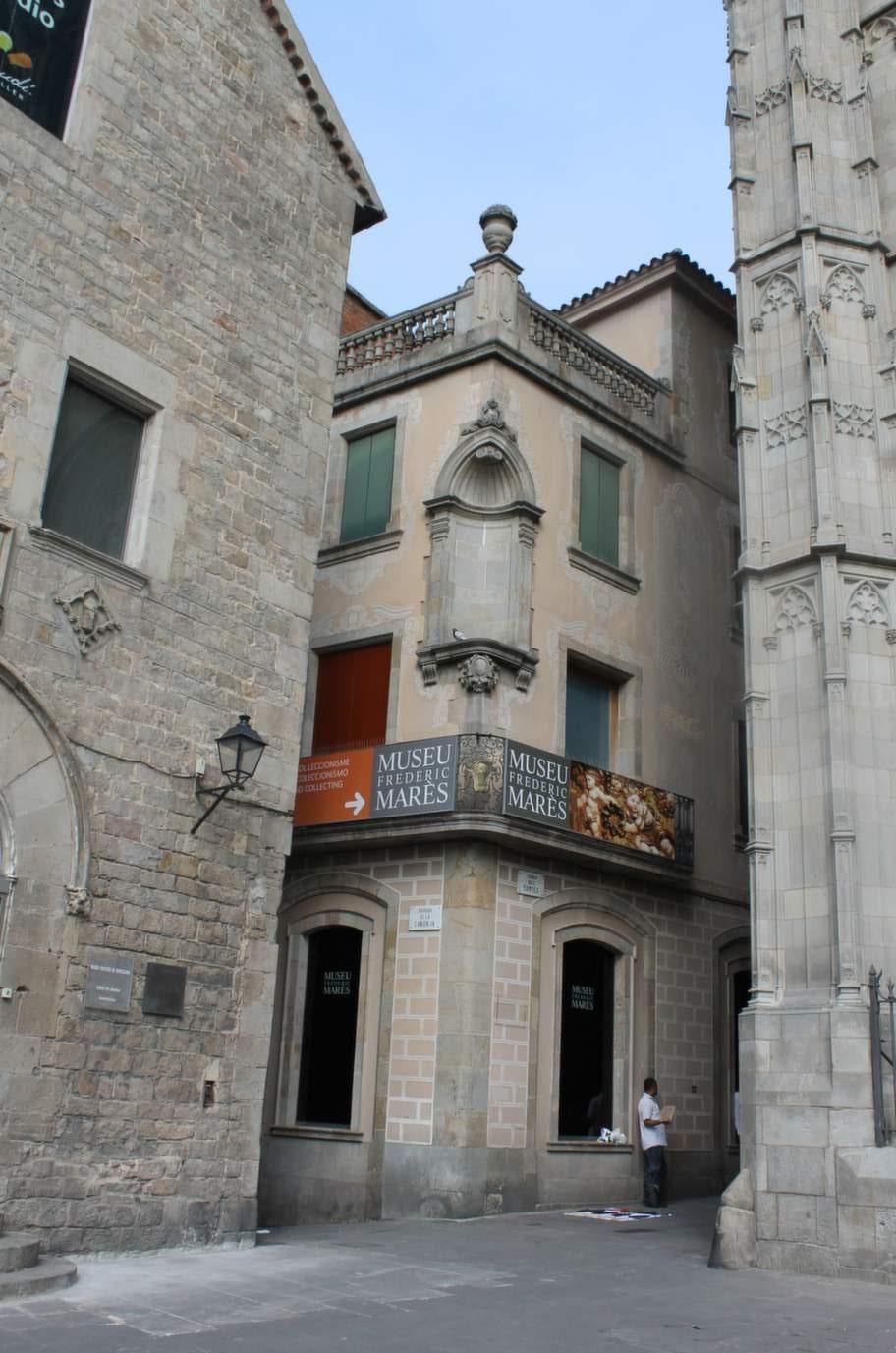 Samlaren Frederic Marès museum.