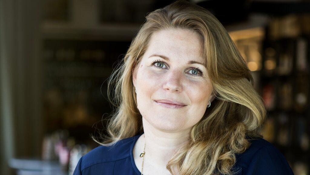 Sofia Ruhne är nybliven Vd på vingården Terreno i Toscana