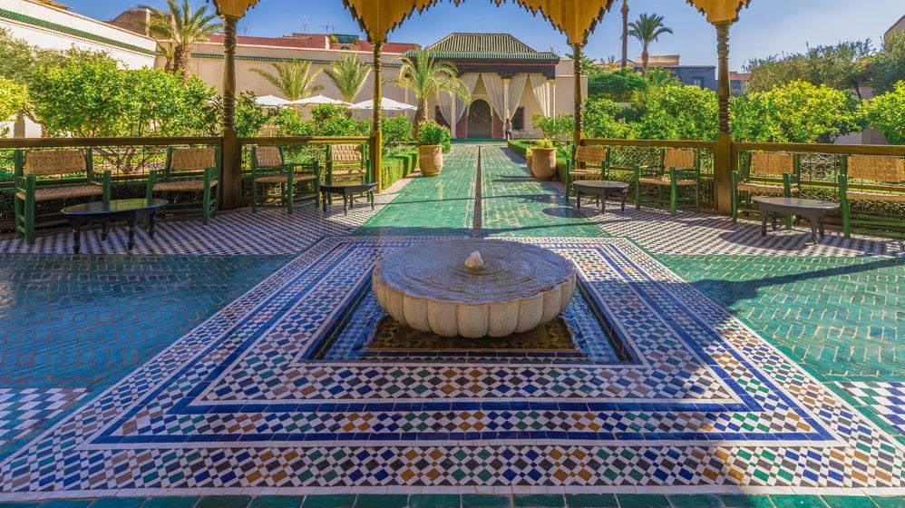 Marrakech är en dröm för en shoppingsugen resenär.