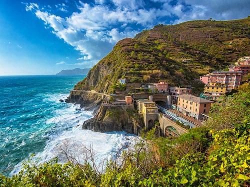 De fem byarna är klassade som ett av Unescos världsarv sedan 1998.