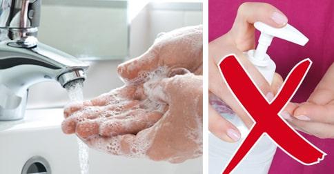 Handsprit hjälper mot mycket, men inte vinterkräksjuka.